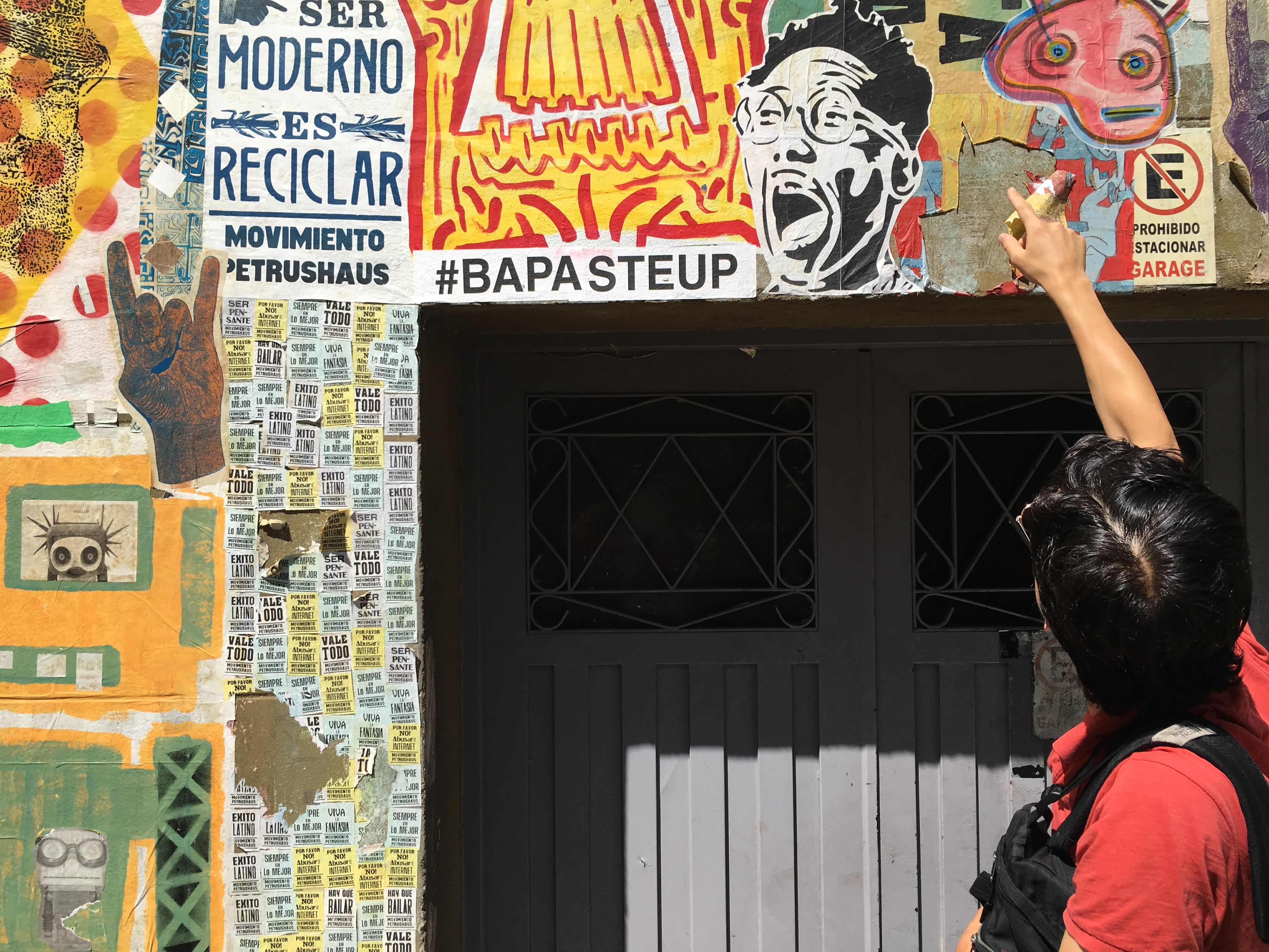 Graffiti tour of Buenos Aires