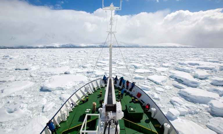 Crossing the Antarctic Circle