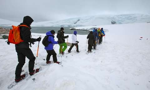 Hiking & Snowshoeing in Antarctica