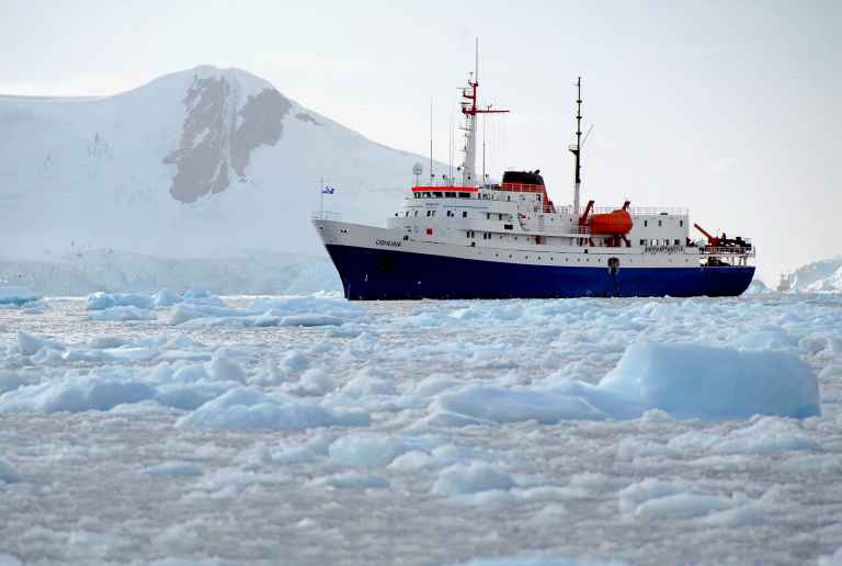 Antarctic Cruise Ships  Compare Expedition Vessels  Swoop
